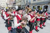 Salzburger dult festzug na salzburg, rakousko — Stock fotografie