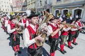 Salzburger dult festzug a salisburgo, austria — Foto Stock