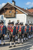 Maria Ascension procession Oberperfuss, Austria. — Photo
