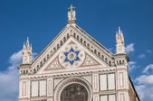 The Basilica of the Holy Cross in Florence, Italy — Foto de Stock