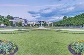 Jardín mirabell (mirabellgarten) en salzburgo, austria — Foto de Stock
