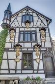 Lichtenstein Castle in Baden-Wurttemberg, Germany — Stock Photo