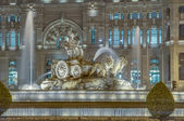Cibeles Fountain at Madrid, Spain — Stock Photo