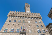 The Palazzo Vecchio, the town hall of Florence, Italy. — Stock Photo