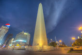 The Obelisk (El Obelisco) in Buenos Aires. — Photo
