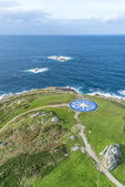 Compass rose in A Coruna, Galicia, Spain. — Stock Photo