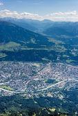 Nordkette mountain in Tyrol, Innsbruck, Austria. — Stock Photo