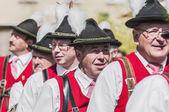 在萨尔茨堡,奥地利萨尔茨堡成人急性 festzug — 图库照片