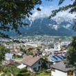 General view of Innsbruck in western Austria. — Stock Photo #44145517