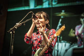 """Amelie performs at the """"Hard Rock Rocks La Merce"""" concert within — Stock Photo"""