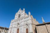 De basiliek van het heilig kruis in florence, italië — Stockfoto