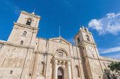 Saint John's Co-Cathedral in Valletta, Malta — Foto Stock