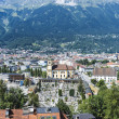 General view of Innsbruck in western Austria. — Stock Photo #44304145