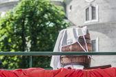 Salzburger dult festzug in salzburg, österreich — Stockfoto
