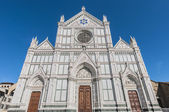 The Basilica of the Holy Cross in Florence, Italy — Stockfoto