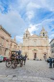 Saint Paul's Cathedral in Mdina, Malta — Zdjęcie stockowe
