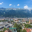 General view of Innsbruck in western Austria. — Stock Photo #44429841