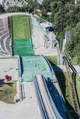 Bergisel kule İnnsbruck, Avusturya. — Stok fotoğraf
