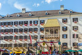 The Golden Roof in Innsbruck, Austria. — Foto Stock
