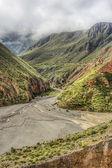 Ruta 13 a iruya en provincia de salta, argentina — Foto de Stock
