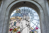 Catedral Basílica em salta, argentina — Fotografia Stock