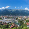 General view of Innsbruck in western Austria. — Stock Photo #44806131