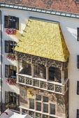 The Golden Roof in Innsbruck, Austria. — Stock Photo