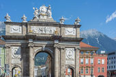 Triumphal Arch in Innsbruck, Austria. — Zdjęcie stockowe