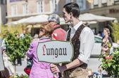 зальцбургский dult festzug в зальцбурге, австрия — Стоковое фото