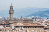 Palazzo vecchio, ratusz w florencja, włochy. — Zdjęcie stockowe