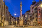 Saint Anne Column in Innsbruck, Austria. — Stock Photo