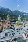 Cathedral of St. James in Innsbruck, Austria. — Stock Photo
