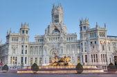 фонтан сибелес в мадрид, испания — Стоковое фото