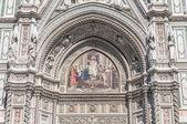 Basilica di santa maria del fiore i florens, italien — Stockfoto