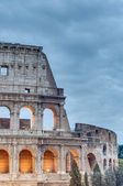 The Colosseum, or the Coliseum in Rome, Italy — Stock Photo