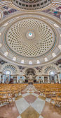 Church Rotunda of Mosta, Malta — Stock Photo