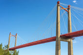 Zarate Brazo Largo Bridge, Entre Rios, Argentina — Stock Photo