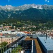 General view of Innsbruck in western Austria. — Stock Photo #51348933