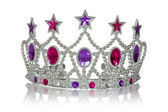 Princess crown — Stock Photo