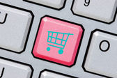 Online shopping or internet shop concepts — Stock Photo