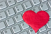 Internet dating concept — Stok fotoğraf