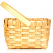 Small wicker basket — Stock Photo