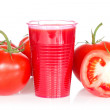 Stock Photo: Ripe tomatoes tomato juice