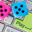 Stock Photo: Online gaming concept