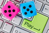 Online gaming concept — Stock Photo