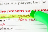 Learning language - English — Stok fotoğraf