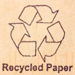 Recycled paper — Stock Photo