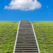 Staircase to the sky — Stock Photo