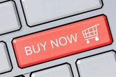 Shop online buy now business concept — Stock Photo