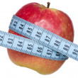 Stock Photo: Body weight control concept